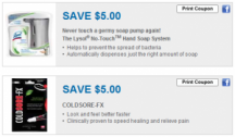 "View the ""Lysol No Touch & ColdSore-FX Coupons"" coupon page"
