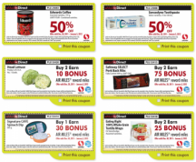 "View the ""Safeway Email Coupons – Valid 'til Jan 5th 2012"" coupon page"