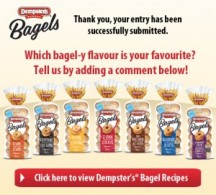 "View the ""Dempster's Bagel-y Contest FREE Bagels for a YEAR"" coupon page"