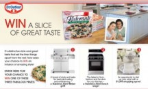 "View the ""Dr. Oetker WIN Styled for Great Taste Contest"" coupon page"