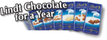"View the ""Enter to win FREE Lindt Chocolate!"" coupon page"