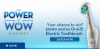 "View the ""Oral-B Power of WOW Contest"" coupon page"