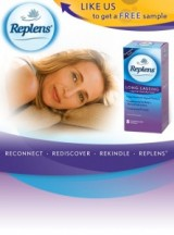 "View the ""FREE Replens Sample"" coupon page"