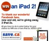 "View the ""Win an iPad 2 from Save.ca"" coupon page"