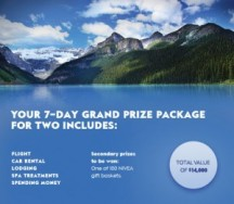 "View the ""Win a Spa Getaway in Banff from Nivea"" coupon page"