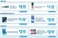 "View the ""Bayer Printable Coupons – First Aid"" coupon page"