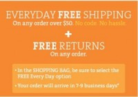 "View the ""Old Navy, GAP & Banana Republic – FREE Shipping on orders over $50"" coupon page"