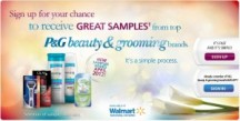 "View the ""P&G Beauty & Grooming Sampler – FREE STUFF!"" coupon page"