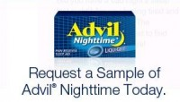 "View the ""FREE Sample of Advil Nighttime"" coupon page"