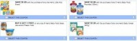"View the ""Heinz 4 Printable Coupons for Snacks, Baby food & cereal"" coupon page"