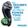 "Consultez la page de réduction ""$ 10 OFF Any Philips Shaver"""