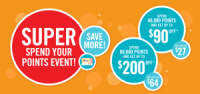 "View the ""Shoppers Drug Mart SUPER Spend your Points Event!"" coupon page"
