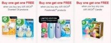 "Consultez la page de réduction ""Air Wick BOGO FREE Airwick coupons from Shoppers Voice""."
