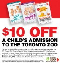 "View the ""Toronto Zoo $10 OFF Child's Admission with Box Top!"" coupon page"