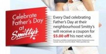 "Consultez la page de réduction ""Smitty's FREE $ 5 Coupon for Father's Day Visit"""
