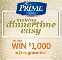"View the ""WIN $1,000 in FREE Groceries from Maple Leaf Prime!"" coupon page"