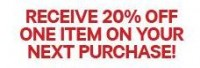 "View the ""H&M 20% OFF 1 Item for Newsletter Sign-up"" coupon page"