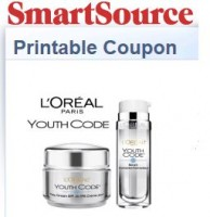 "View the ""L'Oreal Paris Youth Code $5 OFF (SmartSource Printable)"" coupon page"