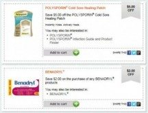 "View the ""Healthy Essentials 101: Living Well Printable Coupons have Moved!"" coupon page"