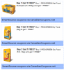 "Affichez la page de coupon de ""Pedigree B1G1 & B2G1 FREE Coupons (SmartSource printables)"""
