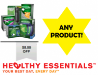"View the ""Nicorette $5 OFF any Product (Healthy Essentials Printable Coupon)"" coupon page"