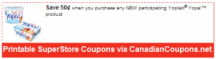 "View the ""Yoplait $.50 OFF Yopa! at Superstore (Printable Canadian Coupon)"" coupon page"