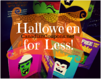 "View the ""Hallowe'en for LESS! (October Coupons Rock!)"" coupon page"
