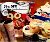 "View the ""76% OFF at Shoppers Drug Mart with only 2 little Tear Pad Coupons!"" coupon page"