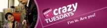 "View the ""Via Rail CRAZY Tuesday Deals!"" coupon page"