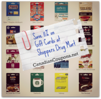 "View the ""Shoppers Drug Mart Annual Gift Card Bonus Offer"" coupon page"