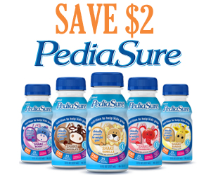 photograph regarding Pediasure Printable Coupon titled Pediasure sidekicks coupon codes printable 2018 : 3 promotions 1 working day sale
