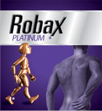 """View the """"Robax Platinum for Back Pain Free Sample (Freebie)"""" coupon page"""