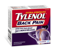 "View the ""Free Tylenol Back Pain Sample Packs"" coupon page"