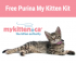 "View the ""Purina Free Kitten Kit"" coupon page"