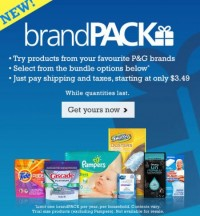 "View the ""P&G Sample Packs And Coupon Sign Up"" coupon page"