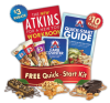 "View the ""FREE Atkins Quick-Starter Kit + Coupon"" coupon page"