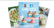 "Vea la página de cupones de ""Milk 2017 Calendar with Recipes"""