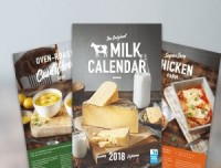 "View the ""Free Milk 2018 Calendar with Recipes"" coupon page"