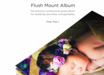"View the ""Free Flush Mount Album"" coupon page"