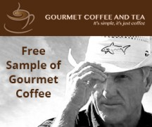 "View the ""Free Sample of Gourmet Coffee"" coupon page"
