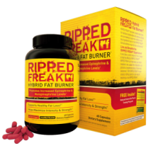 "View the ""Free Sample PHARMAFREAK's RIPPED FREAK Hybrid Fat Burner"" coupon page"