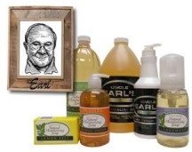 "View the ""Free Sample Uncle Earl's Soap"" coupon page"