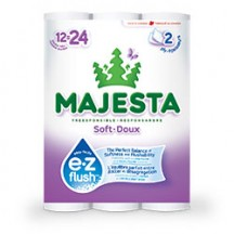 "View the ""Majesta – Save $1.00 on on any MAJESTA® e•z flush™ product"" coupon page"