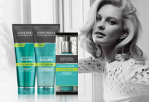"View the ""FREE John Frieda Luxurious Volume Samples!!"" coupon page"
