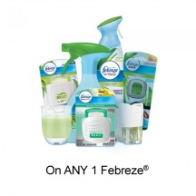 "View the ""Febreze – Save $1.00 when you buy any ONE Febreze® Product (excludes trial/travel size, value/gift/bonus packs)"" coupon page"
