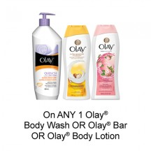 "Affichez la page de réduction ""Olay - Save $ 0.75"""