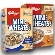 "View the ""Mini-Wheats – Save $1.00 on Kellogg's* Mini-Wheat's* Varieties(Brown Sugar flavour (510 g),Centres Raspberry flavour (510 g),Harvest Blueberry & Red Wheat (405 g),and Maple flavour (500 g)"" coupon page"