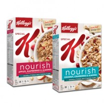 "View the ""FREE Box of Special K Nourish Kellogg's Cereal"" coupon page"