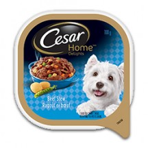 "View the ""Cesar® dog food – Save $2.00 on when you buy any three CESAR® Wet Trays (100g, any variety)"" coupon page"
