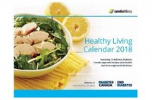 "View the ""Free Canadian Diabetes Association 2018 Calendar"" coupon page"